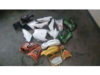 Cr50/70/Ktm plastics