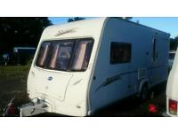 2006 Bailey vermont 2 berth with a fitted motormover and full pouch awnings vgc