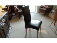 Seven chairs for sale no longer needed. Will sell as a lot or individually.