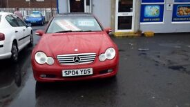 Mercedes c class cdti automatic full mot drives and looks good reduced to £1295