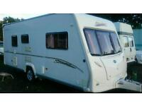 2006 Bailey vermont 2 berth with large end bathroom and fitted motormover