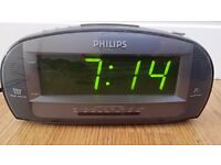 PHILIPS Alarm Clock Radio **£8**