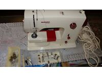 Bernina 807 heavy duty sewing machine FOR spares or repair