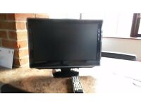 Toshiba 22inch tv with dvd