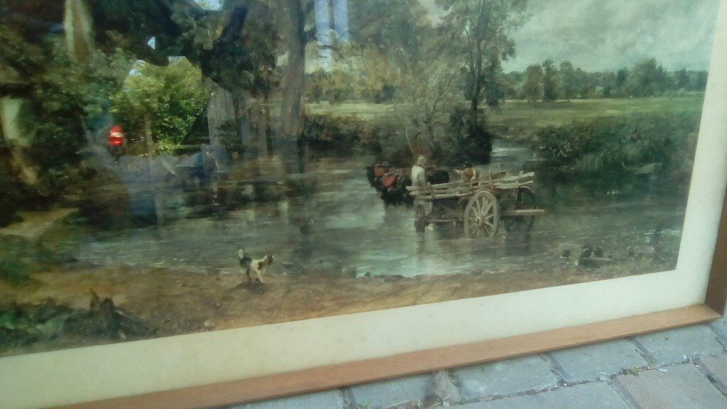 Constable\'s The Hay Wain Print in frame | in Truro, Cornwall | Gumtree