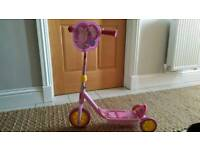 Peppa Pig first scooter