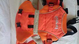 Orange baby carrier Brevi new
