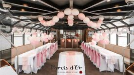 Linen Hire Services/ Chair Covers, Sashes & Tablecloths Hire & Set Up/ Wedding & Party Decorations