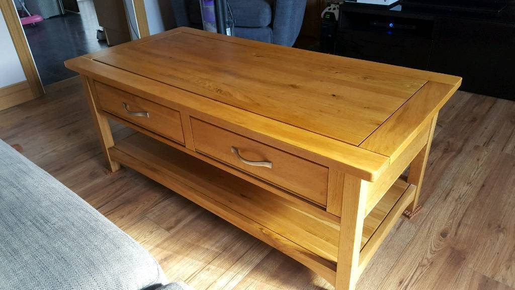 Harveys Pavilion Solid Oak Coffee Table