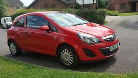 Vauxhall Corsa 1.2 immaculate, 64reg, 19000 miles, comes with warranty until Feb 2018 - £5500