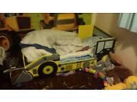 Boys toddler Dugger bed
