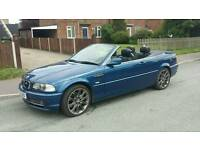 BMW 330 convertible