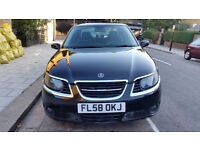 AMAZING SAAB 9-5 2.3 AUTOMATIC (58) JUST 56800 MILES BLACK