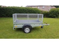NEW trailer with mesh 6.7 x 4 x 3,12 £750 inc vat