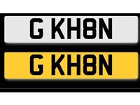 G KH8N - PRIVATE NUMBER PLATE!!! READY TO TRANSFER!