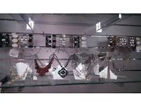 """10"""" Acrylic Earring & Necklace/Chain Display Bust / Bracelet and Earring display"""