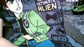 ben 10 ultimate alien rug