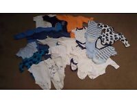 baby clothes very good condition