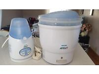 Avent bottle heater & sterilizer
