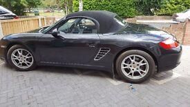 Porsche Boxter, 2.7/987 Convertible 2dr, Black - 37K Miles