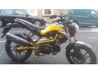 125cc kymco k-pipe 2015 excellent condition
