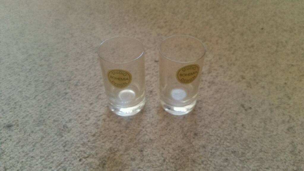 X2 Shot glass glasses studio bohem design
