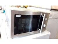 Selection of Silver/Grey Microwaves from £10
