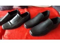 2 pairs mens shoes