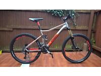 VooDoo Canzo 27.5 2016 Full suspension Mountain Bike rrp800