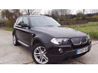 2007 BMW X3 Facelift 3.0d Auto 2 Owners Full Service History Excellent Condition