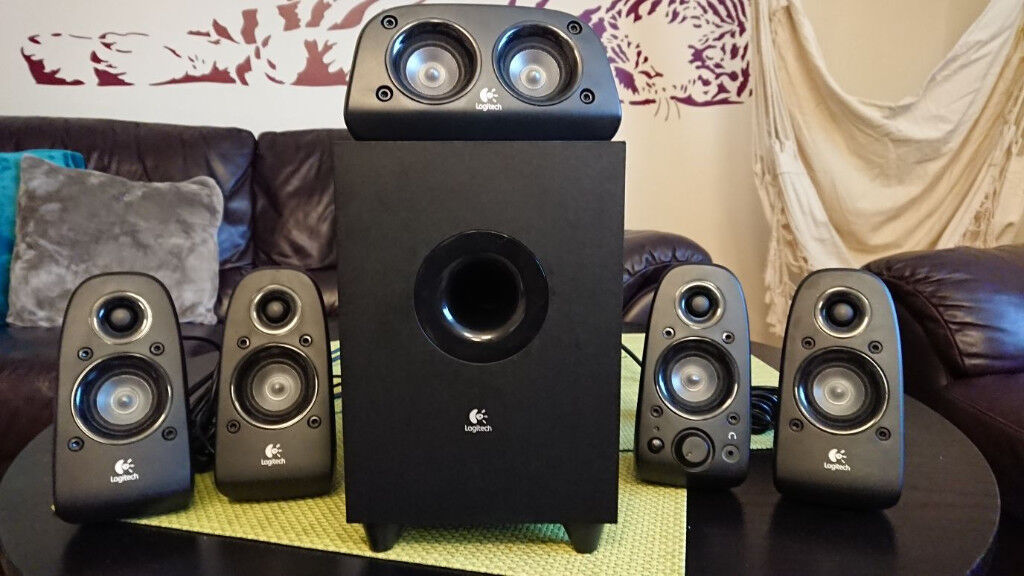 a3b46edbed2 Logitech Z506 Surround Sound Speakers/surround sound system, black