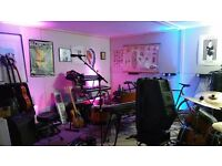 Rehearsal studio for band to hire monthly N4 Manor House