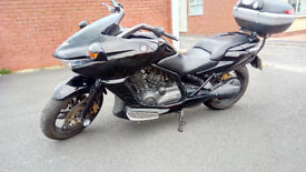 2010 Honda DN-01 NSA 700, Black - GIVI Luggage ONLY 2450 Mile