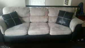 Two tone couch 300 obo   Good condition