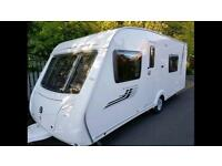 4 berth Swift Chrisma 545. 2010 top of the range excellent condition awning and extras and mover