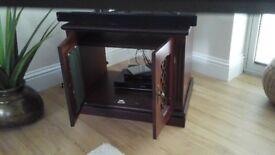 Custom built TV and media cabinet