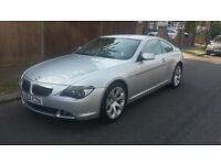BMW 645CI 6 SERIES SAT NAV TV LEATHER PARKING SENSORS FULLY LOADED CHEAPEST OF ITS KIND BARGAIN!!!!