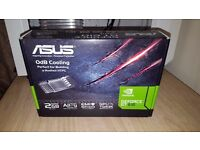 ASUS NVIDIA GEFORCE GT 610 2GB 2048MB SILENT GRAPHICS CARD! VGC!