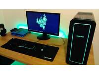 Complete Gaming PC setup - Monitor - keyboard - mouse - i5 4460 quad core CPU - 8GB RAM - R9 270