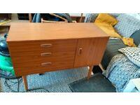 Short vintage sideboard/dressing table
