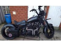 Costume motorcycle 600cc