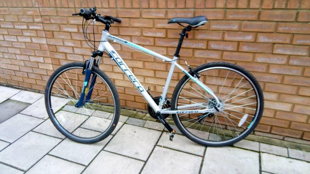 Carrera Crossfire 1 Mens Hybrid Bike 19'' Frame