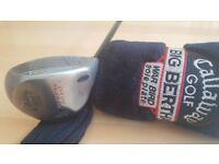 Callaway Golf Big Bertha War Bird Driver 10 degree RCH 96 Series Firm Flex Shaft with Head Cover