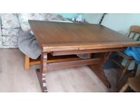 Ercol dining table Golden dawn.