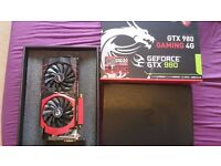 MSI GeForce GTX 980 GAMING 4G Graphics Card