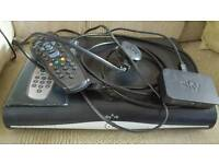 Sky+ HD box, wifi adapter and remote