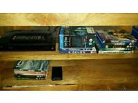Samsung blueray with 18 dvds mint