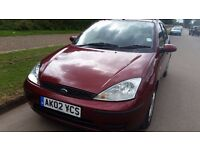 Ford Focus Hatchback For Sale. 2002 Good Condition. Economical and Reliable car. Used daily