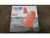 200 Pairs Howard Leight MAX Ear Plugs - Soft Foam