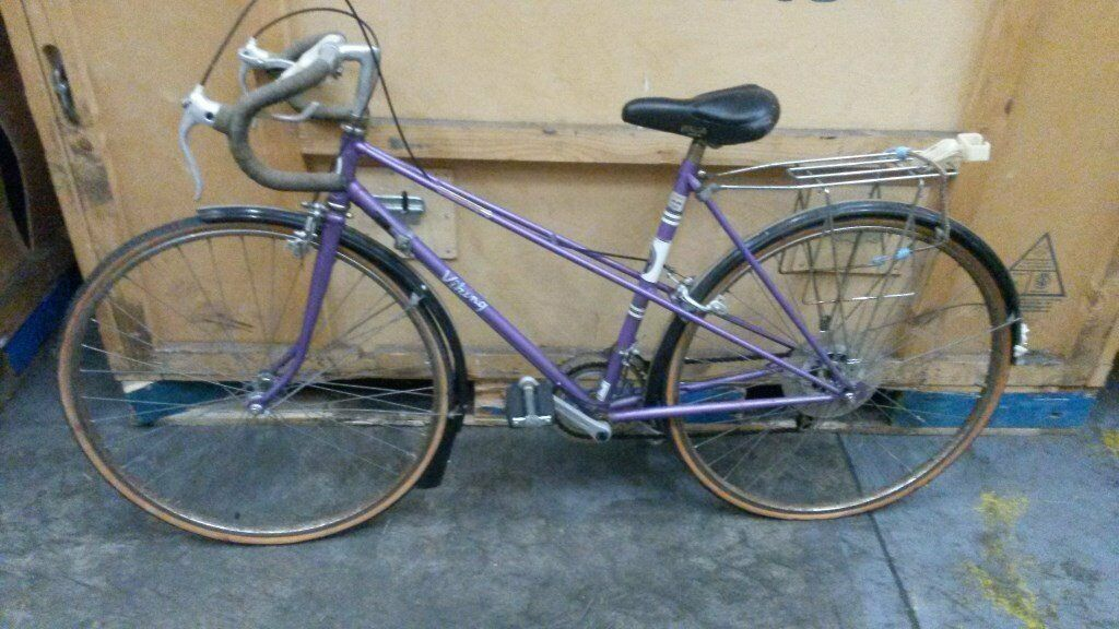 Ladies Viking road bike. Viking ( 10 speed gears ) 20 inch frame ...